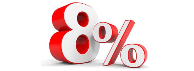 IVA 8%